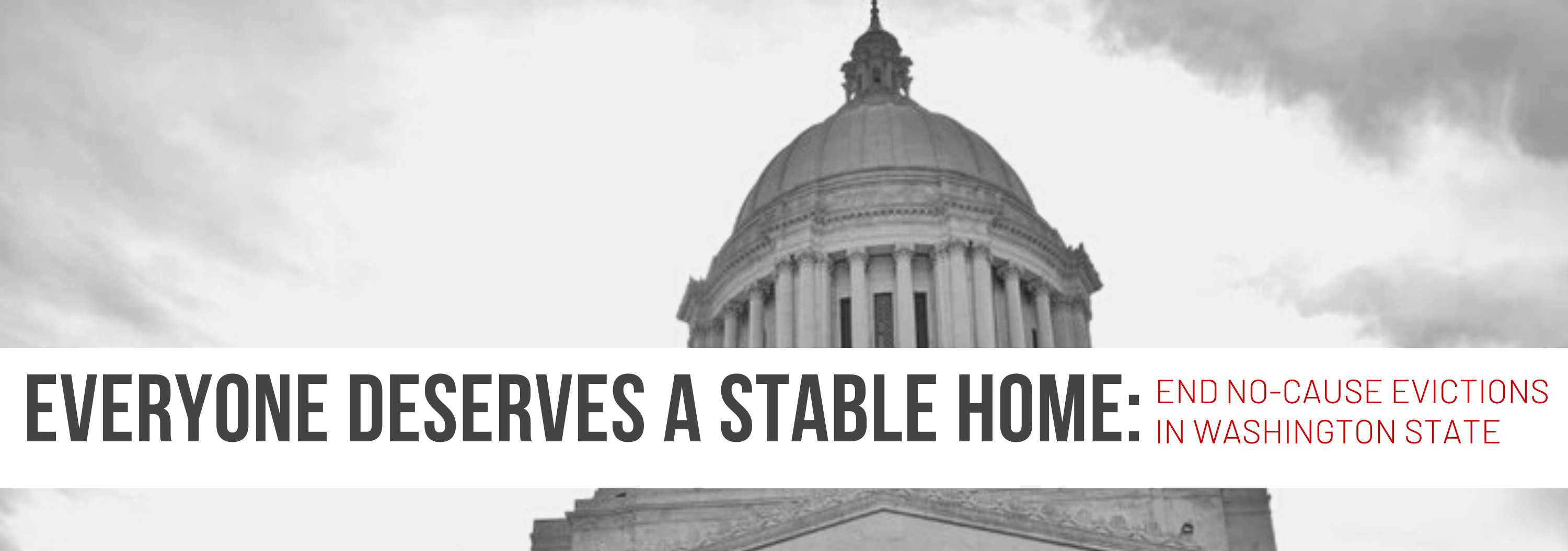 Everyone deserves a stable home